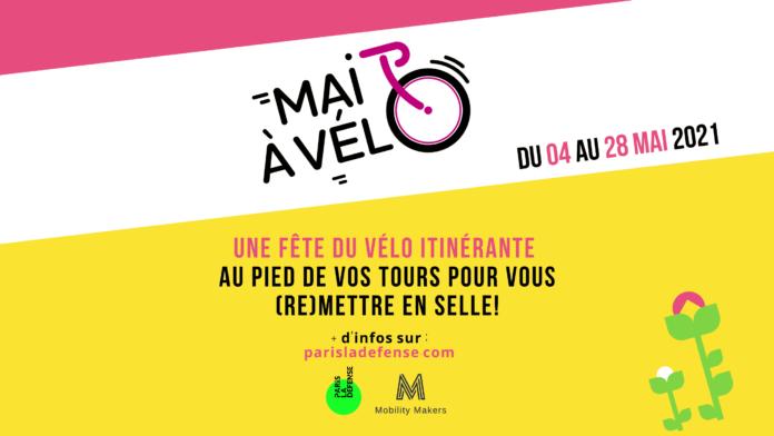 Bannière mai à vélo