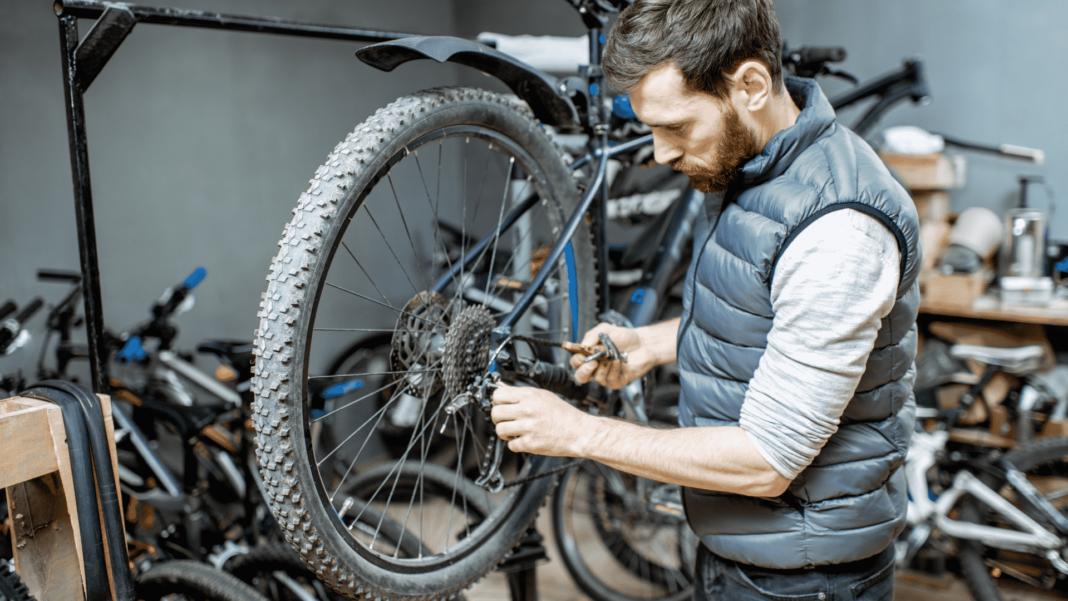autoréparation vélo