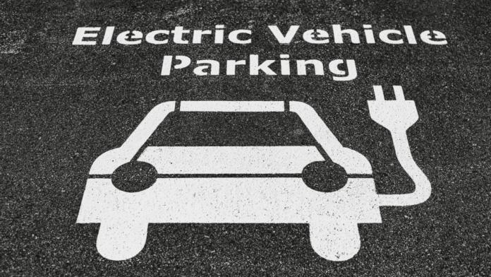 Parking voiture electrique
