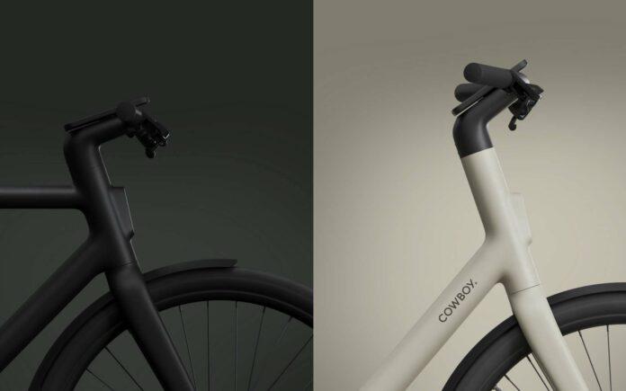 Vélo noir et blanc
