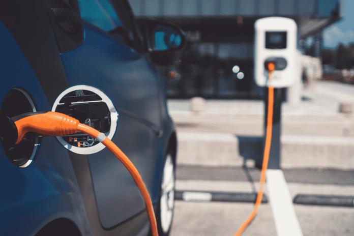 Borne de recharge voiture electrique